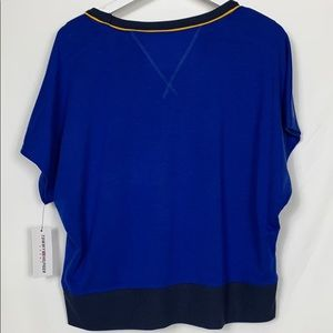 Tommy Hilfiger Tops - NWT Tommy Hilfiger blue cropped top size Lg.